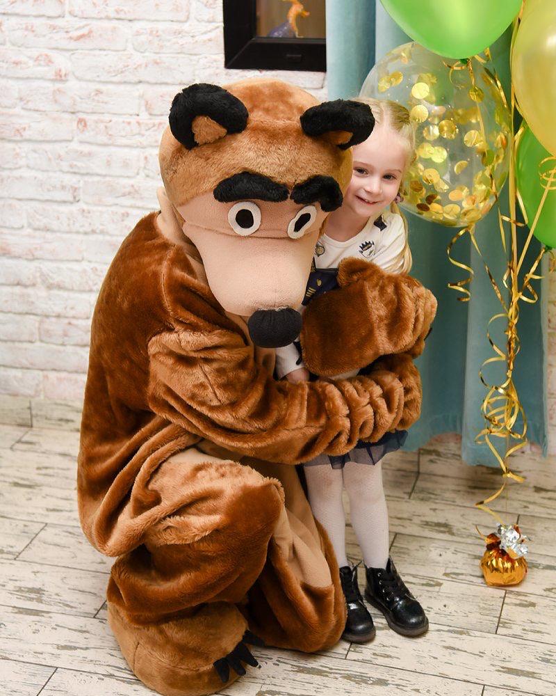ростовая кукла медведь в кемерово