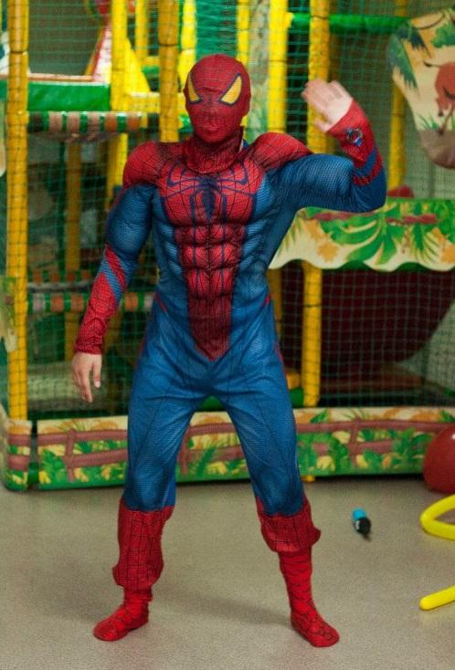 аниматор человек паук в кемерово
