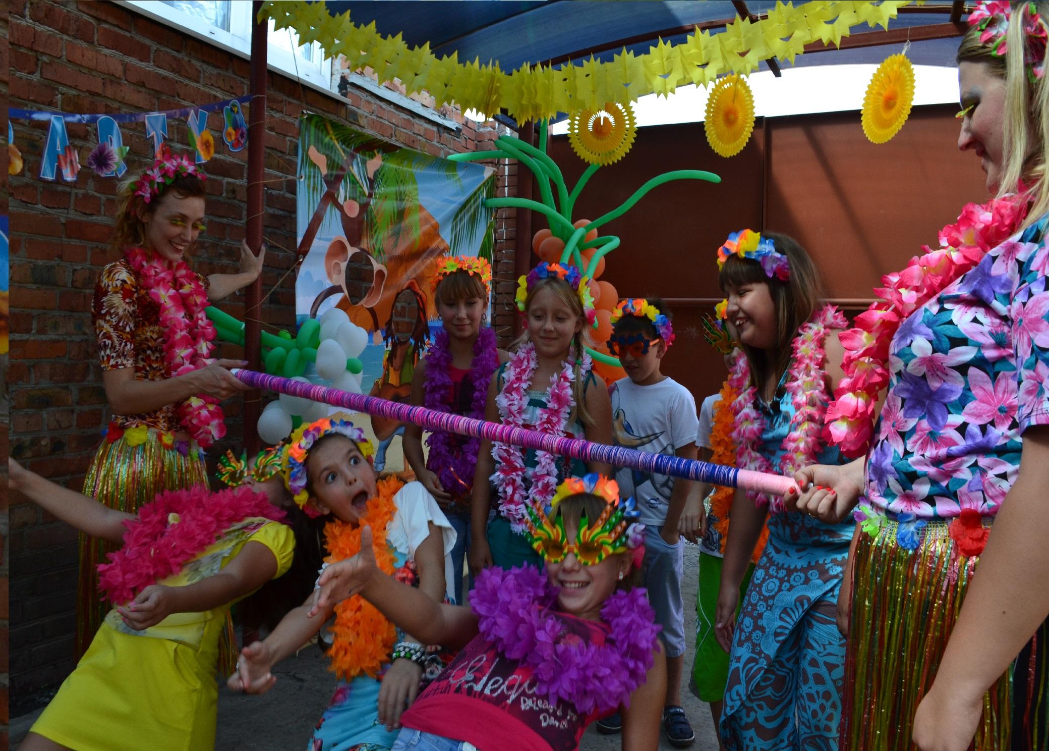Сценарий для гавайской вечеринке на день рождение